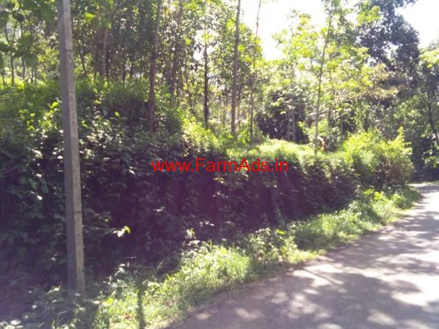 1 acre Rubber Estate for sale at Marriapuram - Idukki