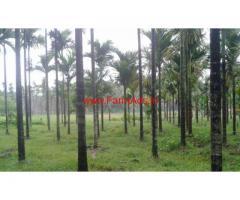 3 acre agricultural Land for sale near Karkala-Hebri Highway.