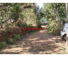 1.60 acres rubber farm for sale in bhoodhakulam , paripally paruvur road