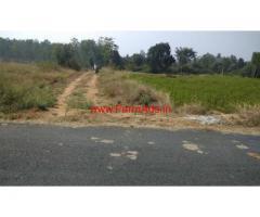 1.5 Acres Farm Land for sale at mahadevapura to motaganahalli road