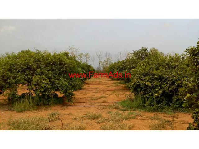 6 acres Farm Land with Farm House for sale at Choutuppal