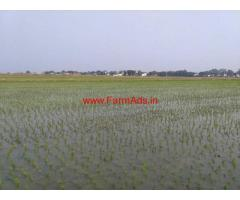 23 acre agricultural (paddy) land sale near Gangavathi.