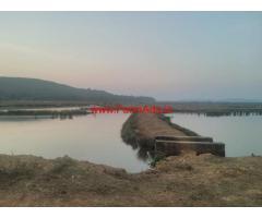 60 acre shrimp ponds for rent in Gokarna, Karnataka