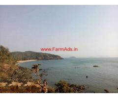 65000 square meter beach view plot for sale at Goa
