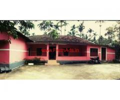 5 Acres of agriculture land with farm house for sale at Attapadi