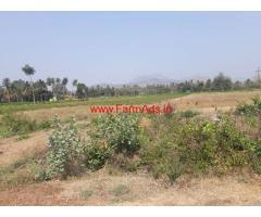 1 acre 10 kunte Agriculture land for sale on Kanakapura to Malvalli road