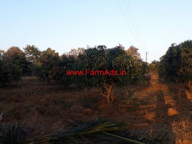 1 acre 4 kunte farm land for sale on Bangloru to malvalli road