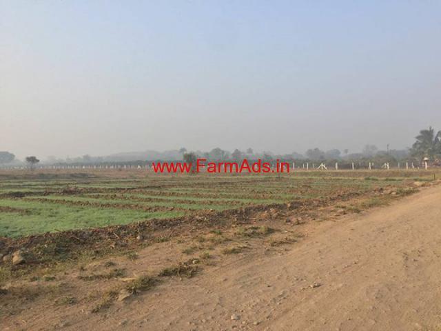 74 Guntha plot for sale on Pune - Solapur road