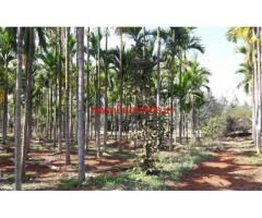 7.5 acres agricultural land for sale in nelamangala Taluk
