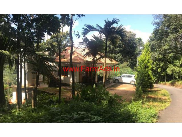 Two houses with 3 Acres of agricultural land for sale at Munnar