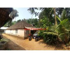 1.25 Acre land with 3 BHK House for sale at Koothattukulam, Kochi