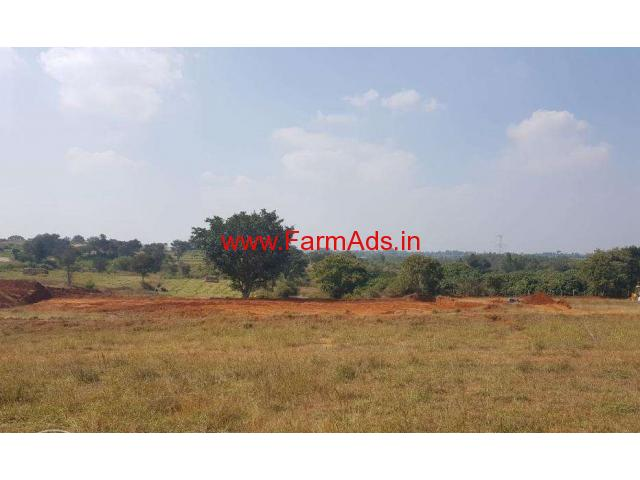 4 Acre Agricultural Farm land for sale in Thally towards jawalagiri