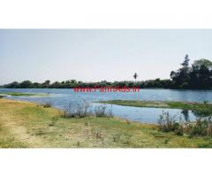 3 Acres river touch farm land on HD Kote - Mananthavady road