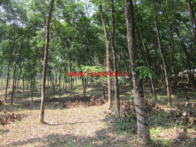 4 acres Rubber Estate for sale at Marika, Vazhithala