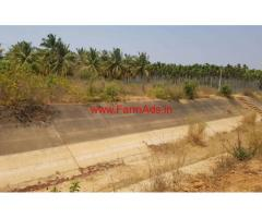 2.4 acre Agricultural Coconut farm for sale 13km away from tumkur.