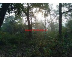 6 Acres Farm Land for sale at Dandeli near Jagalbet, 12 KM from Ganeshgudi
