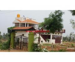 Farm House for sale on Talkadu to Mysore Road.